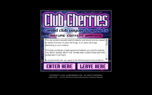 Access clubcherries.com using Hola Unblocker web proxy