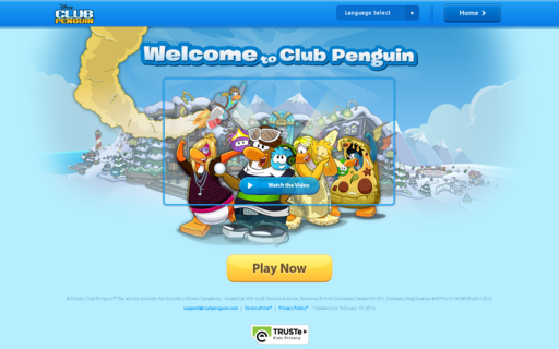 Access clubpenguin.com using Hola Unblocker web proxy