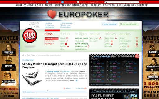 Access clubpoker.net using Hola Unblocker web proxy