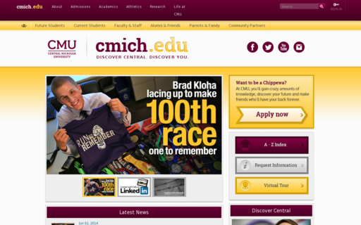 Access cmich.edu using Hola Unblocker web proxy