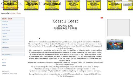 Access coast2coasts.es using Hola Unblocker web proxy