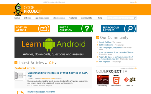 Access codeproject.com using Hola Unblocker web proxy