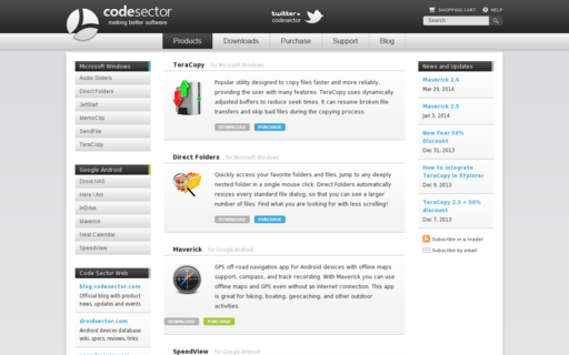 Access codesector.com using Hola Unblocker web proxy