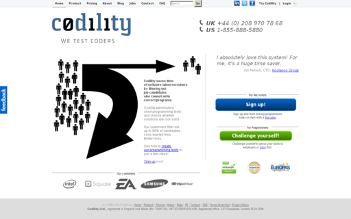 Access codility.com using Hola Unblocker web proxy