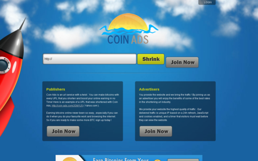 Access coin-ads.com using Hola Unblocker web proxy