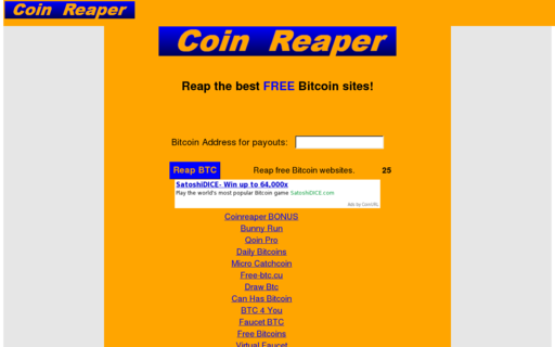 Access coinreaper.com using Hola Unblocker web proxy