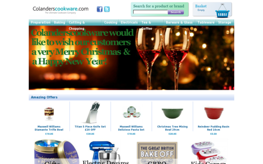 Access colanderscookshop.co.uk using Hola Unblocker web proxy