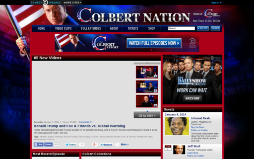 Access colbertnation.com using Hola Unblocker web proxy