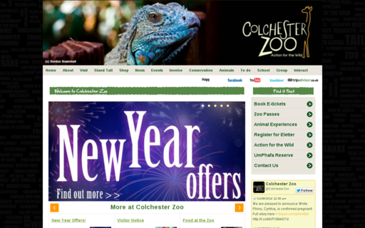 Access colchester-zoo.com using Hola Unblocker web proxy