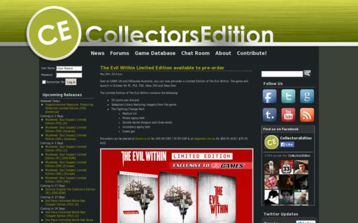Access collectorsedition.org using Hola Unblocker web proxy