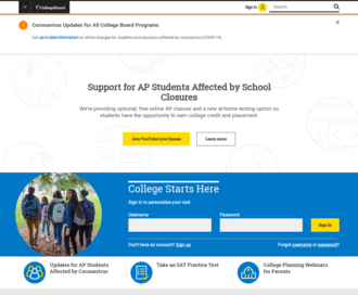 Access collegeboard.org using Hola Unblocker web proxy