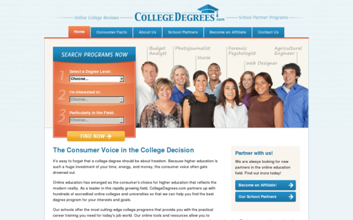 Access collegedegrees.com using Hola Unblocker web proxy