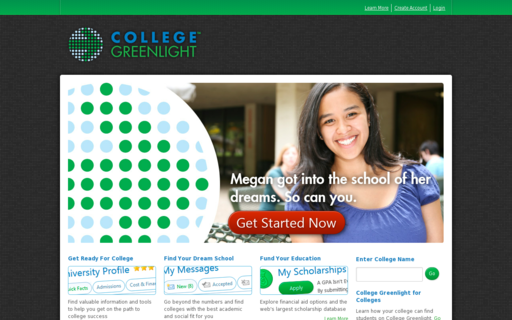 Access collegegreenlight.com using Hola Unblocker web proxy