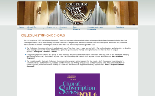 Access collegiumsymphonicchorus.com.au using Hola Unblocker web proxy