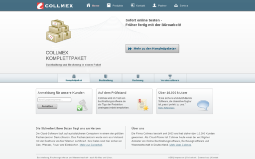 Access collmex.de using Hola Unblocker web proxy