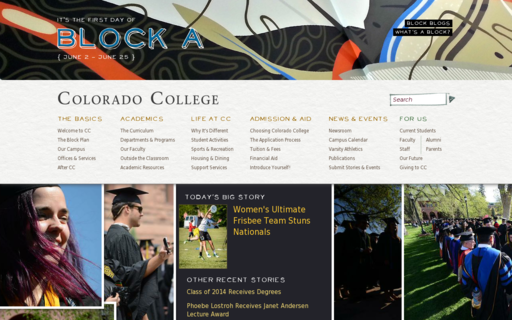 Access coloradocollege.edu using Hola Unblocker web proxy