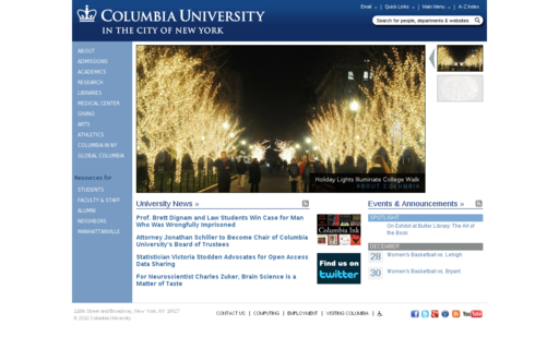 Access columbia.edu using Hola Unblocker web proxy
