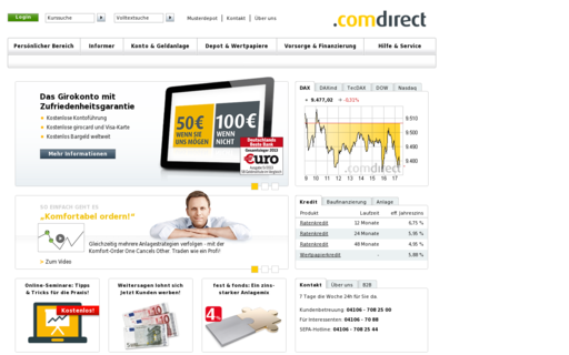 Access comdirect.de using Hola Unblocker web proxy