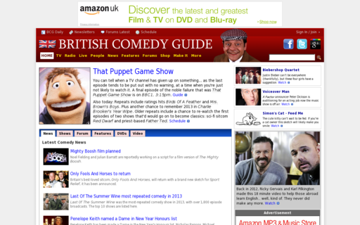 Access comedy.co.uk using Hola Unblocker web proxy