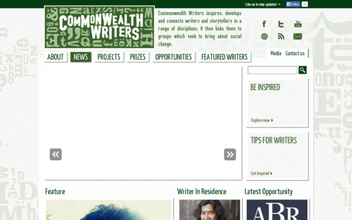 Access commonwealthwriters.org using Hola Unblocker web proxy