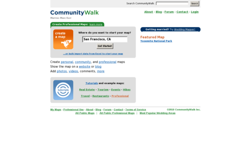 Access communitywalk.com using Hola Unblocker web proxy