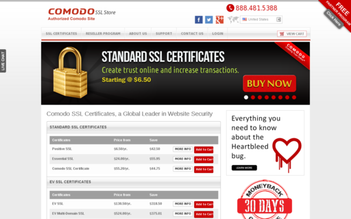 Access comodosslstore.com using Hola Unblocker web proxy