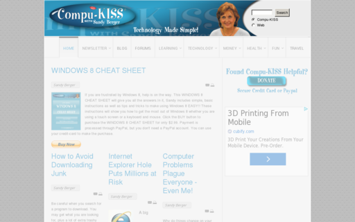 Access compukiss.com using Hola Unblocker web proxy