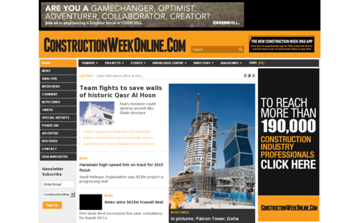 Access constructionweekonline.com using Hola Unblocker web proxy