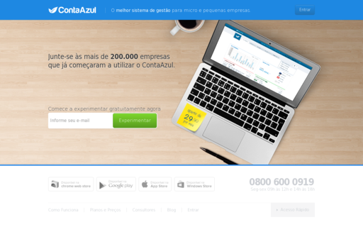 Access contaazul.com.br using Hola Unblocker web proxy