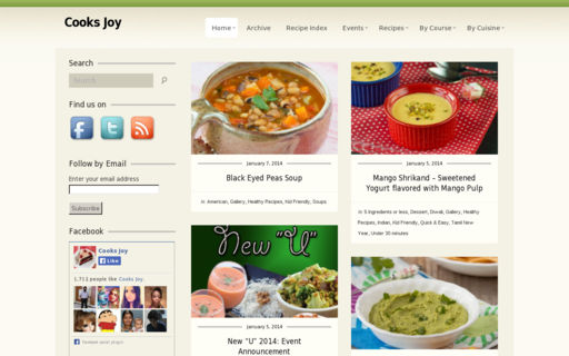 Access cooksjoy.com using Hola Unblocker web proxy