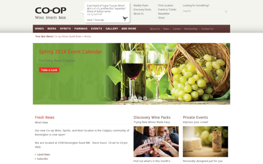 Access coopwinespiritsbeer.com using Hola Unblocker web proxy