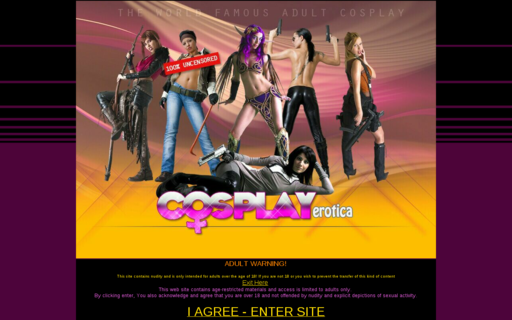 Access cosplayerotica.com using Hola Unblocker web proxy