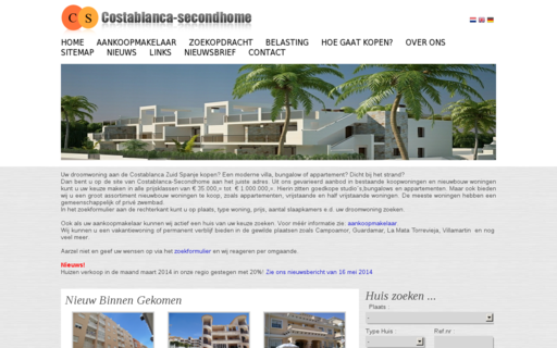 Access costablanca-secondhome.com using Hola Unblocker web proxy