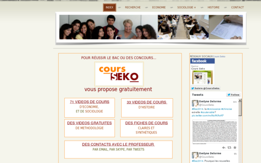 Access cours-seko.fr using Hola Unblocker web proxy