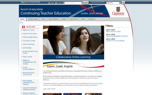 Access coursesforteachers.ca using Hola Unblocker web proxy