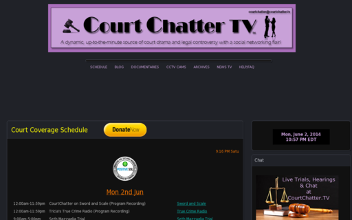 Access courtchatter.tv using Hola Unblocker web proxy
