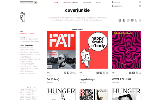 Access coverjunkie.com using Hola Unblocker web proxy