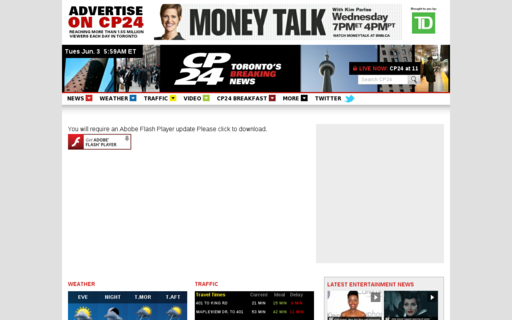 Access cp24.com using Hola Unblocker web proxy
