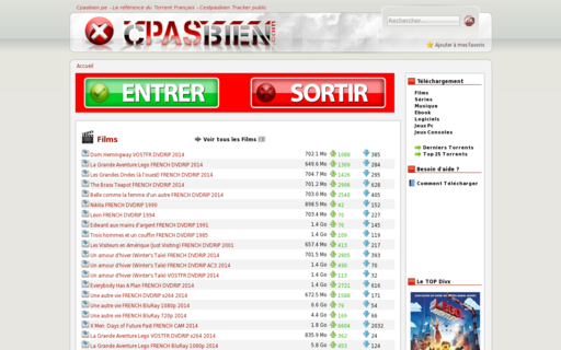 Access cpasbien.com using Hola Unblocker web proxy
