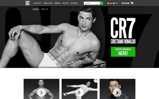 Access cr7underwear.com using Hola Unblocker web proxy