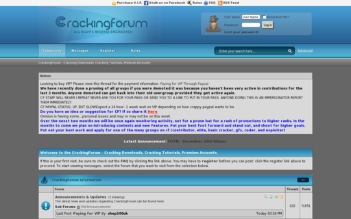Access crackingforum.com using Hola Unblocker web proxy
