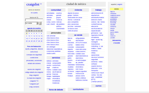 Access craigslist.com.mx using Hola Unblocker web proxy