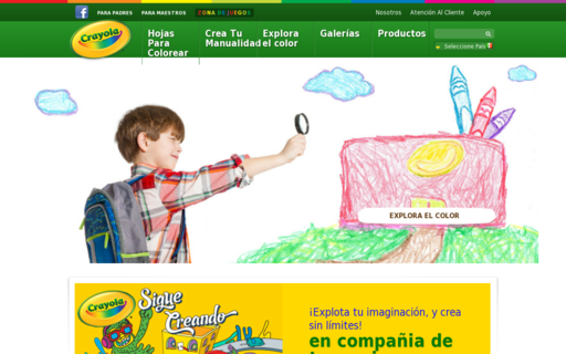 Access crayola.com.mx using Hola Unblocker web proxy