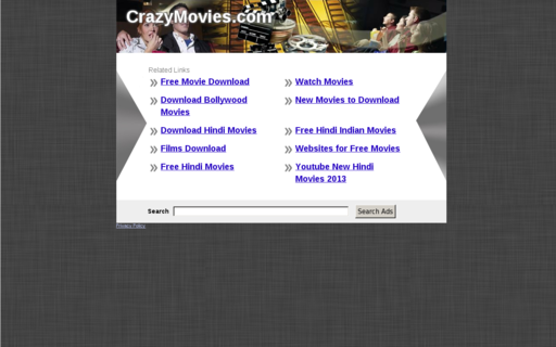Access crazymovies.com using Hola Unblocker web proxy