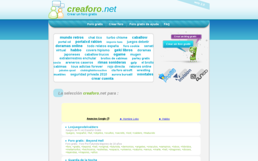 Access creaforo.net using Hola Unblocker web proxy