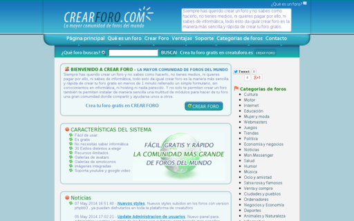 Access creatuforo.es using Hola Unblocker web proxy