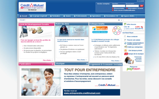 Access creditmutuel.fr using Hola Unblocker web proxy