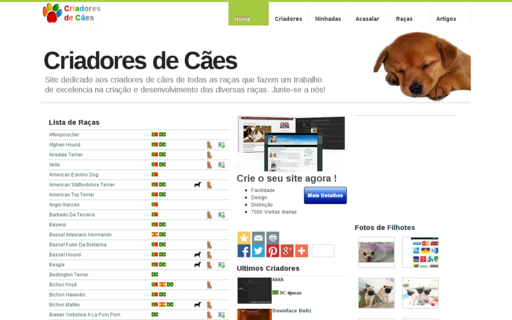 Access criadores-caes.com using Hola Unblocker web proxy
