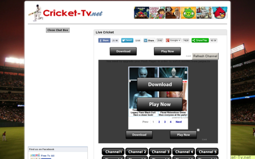 Access cricket-tv.net using Hola Unblocker web proxy