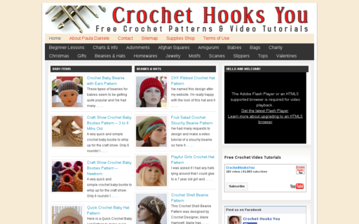 Access crochethooksyou.com using Hola Unblocker web proxy